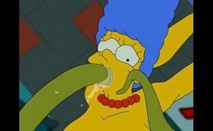 Marge Simpson quadrinho erotico hq anime